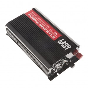 Heavy Duty 1200-Watt Double-Outlet Power Inverter