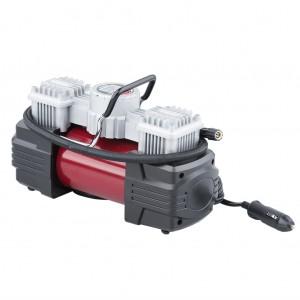Dual Cylinder Portable Car Air Compressor 100psi with Digital Gauge LED light