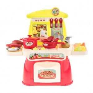 Kids Cooking Kitchen Appliance Toy Play Set with Light and Sound