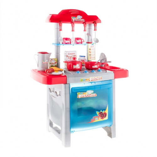 Kid 39 s kitchen set appliance cooking play set with light for Cheap kids kitchen set