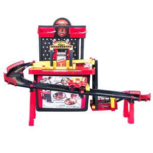 Multi Level Auto Repair and Checking Centre Car Toy Play Set