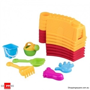 Kids Beach Sand and Water Castle Wall Toys