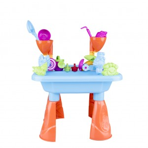 Kid's Sand and Water Table Summer Beach Playset