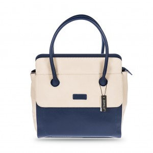 Women's Stylish Zapals Classic Square City Bag - Royal Blue