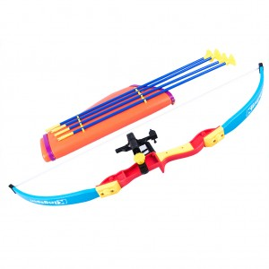 Kids Children Archery Bow and Arrow Set Toy Sports Practice Training Safe