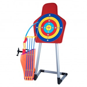 Kids Archery Arrow and Bow Set with Target and Stand