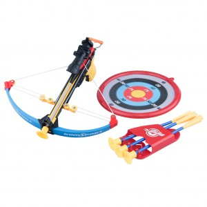 Kids Crossbow Arrow Archery Set with Target for Sports Focus Practice