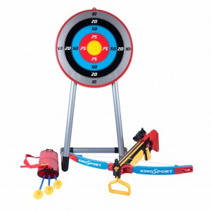 Kids Crossbow Archery Set with Target and Stand for Focus Practice