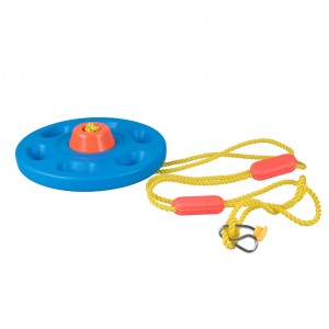 Outdoor Disc Swing Children Kid Equipment Device Facility Playing