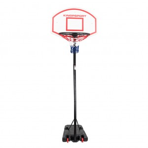 Portable Height-Adjustable Basketball Stand Set with wheel