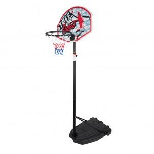 Portable Basketball Set Height-Adjustable Basketball Hoop