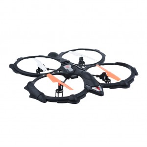 RC Quadcopter UFO 2.4GHz 6CH 6 Axis - Black
