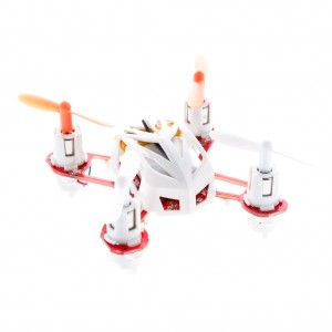 Nano RC Quadcopter Helicopter 2.4GHz 4CH 6 Axis - White