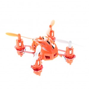 Nano RC Quadcopter 2.4GHz 4CH 6 Axis - Orange