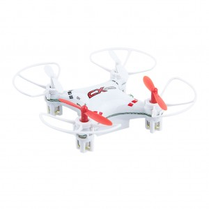 6-Axis 5-Channel 2.4GHz RC Nano Drone Quadcopter - White