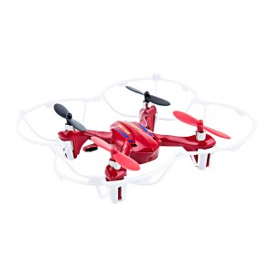 Mini RC Drone Quadcopter 2.4GHz 4CH 6 Axis - Red