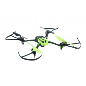 Mini RC Quadcopter with Camera 2.4GHz 4CH 6 Axis - Green