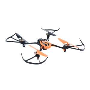 Mini RC Quadcopter with Camera 2.4GHz 4CH 6 Axis - Orange