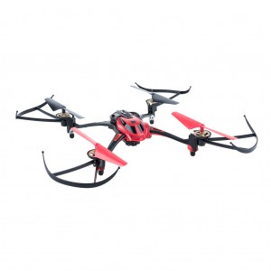 Mini RC Quadcopter with Camera 2.4GHz 4CH 6 Axis - Red