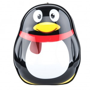 Kids Backpack School Bag Penguin Pattern with LED Light