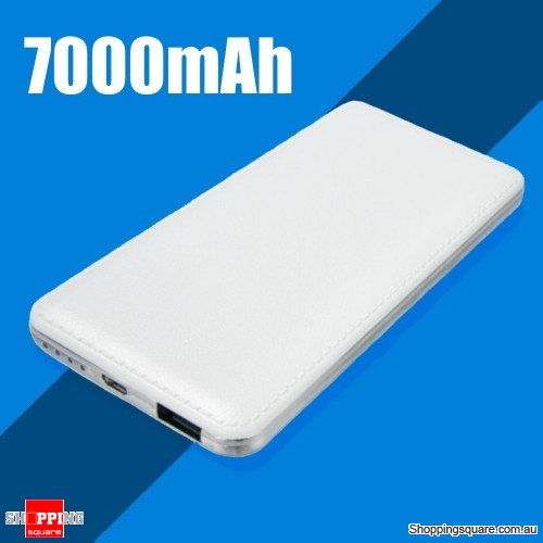 7000mAh Stylish Power Bank High Quality Battery Charger