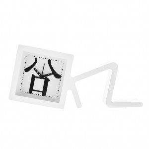 Kids Fancy Metal Square Clock Table Alarm