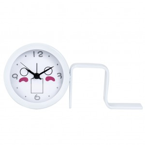 Lifestyle Metal Alarm Table Clock For Home Decoration