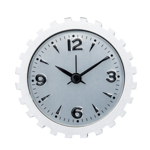 Inspired Gear Design Metal Craft Alarm Table Clock