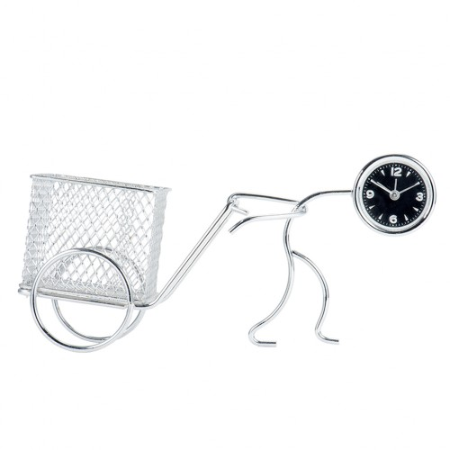 Wrought Iron Doll Style Table Clock