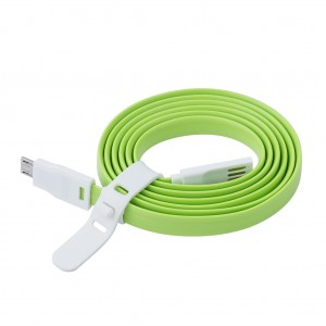 USB to Micro USB Cable for Android - Green