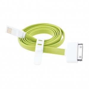 USB3.0 Charge & Sync Cable for iPhone 3GS 4/4s iPod Touch 2 3 4 Nano 4 5 6 iPad 2 Green Colour