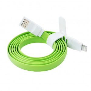 Lightning to USB 3.0 Charge & Sync Cable for iPhone 6s Plus 6s 5s - Green
