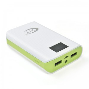 7800mAh Portable External Power Bank Backup Battery Charger Green