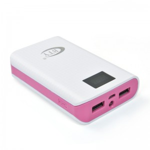 7800mAh Portable USB Power Bank Charger Backup Battery Pink