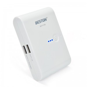 Beston 12000mAh Dual USB Portable Power Bank