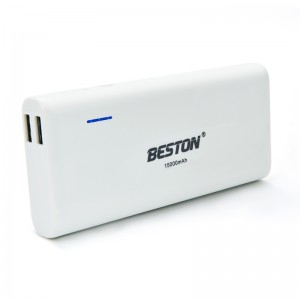 Beston 15000mAh Portable Dual USB Power Bank Battery Charger