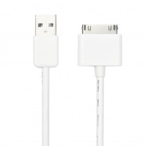 USB to 30-Pin Charge Sync Cable for iPhone 4s/4 3GS iPad 2
