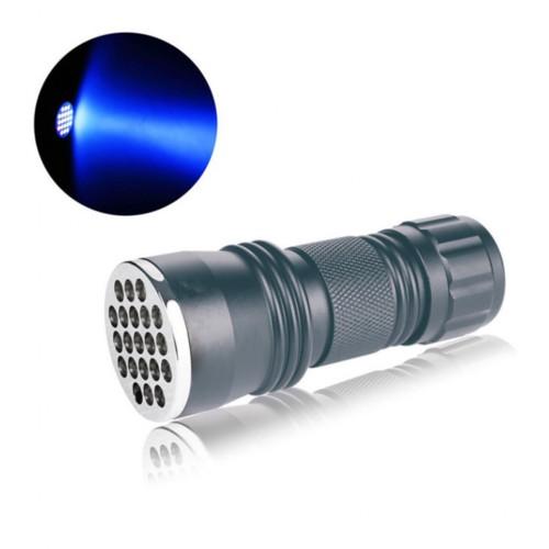 Aluminum 21 LED Pocket Flashlight Torch Lamp Light for Camping Survival