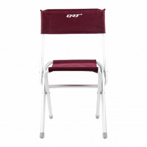 Classic Take-Out Folding Camping Garden Party Yard Beach Chair -  Burgundy
