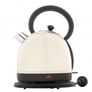 Stainless Steel 1.8L Electric Kettle - Cream