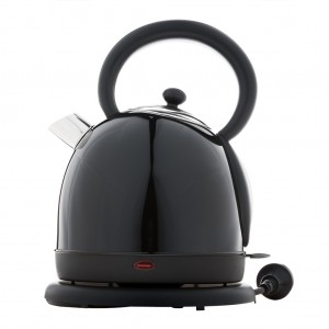 1.8L Deluxe Stainless Steel Electric Cordless Water Kettle - Black