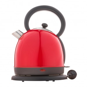1.8L Deluxe Stainless Steel Electric Cordless Water Kettle - Red