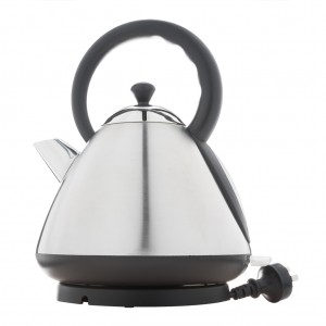 1.7L Deluxe Stainless Steel Electric Cordless Dome Kettle - Silver
