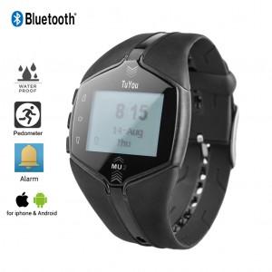 Wearable Activity and Sleep Tracker Bluetooth Wireless Smartwatch Sports Fitness