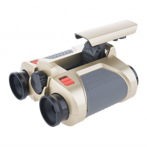 4x30 Night Vision Binoculars Small Toy Binoculars for Kids Children