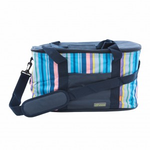 28L Insulated Cooler Bag with Gel Ice Pack Blue