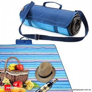 Waterproof Picnic Rug Fleece Blankets for Camping Beach Hiking