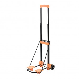 Compact Multi-Use Folding Luggage Cart Hand Truck Shopping Cart