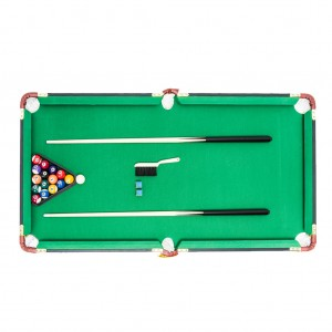 Junior 4ft Pool Billiard Table with Over & Under Design Cue Sport