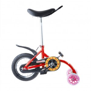 Kids Unicycle Mini Balance Bicycle - Red